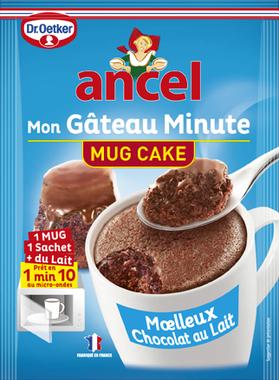 J'ai testé pour vous : le mug cake Ancel